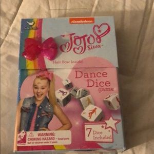 JOJO Siwa Dance Dice game